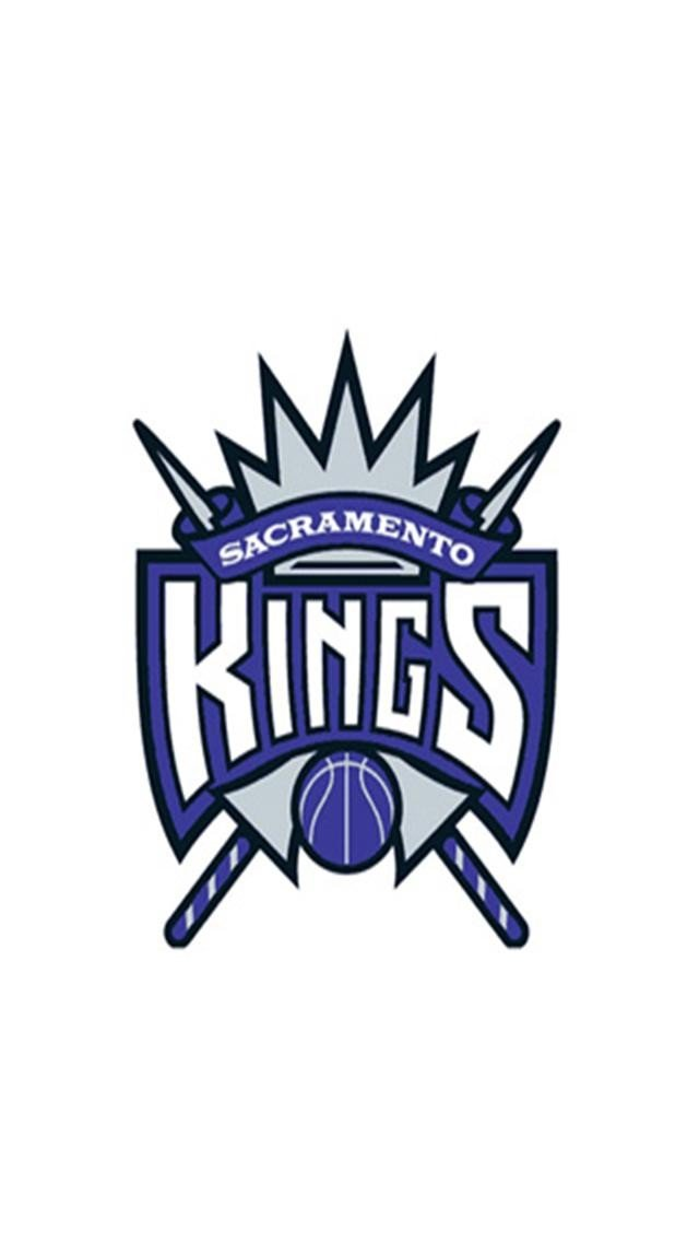 Sacramento Kings White LOGO iPhone Wallpapers iPhone 5s4s3G 640x1136