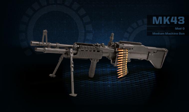 M60 Machine Gun Wallpaper Mk43 mod0 medium machine gun 758x451