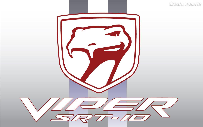 Papel de Parede Dodge Viper SRT 10   Logo 1440x900
