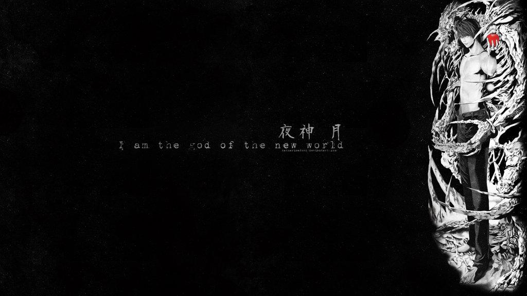 Light Yagami Wallpaper by katharineFord 1024x576