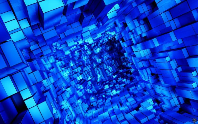 blue cube 1920x1200 wallpaper Blue Wallpaper Desktop Wallpaper 800x500