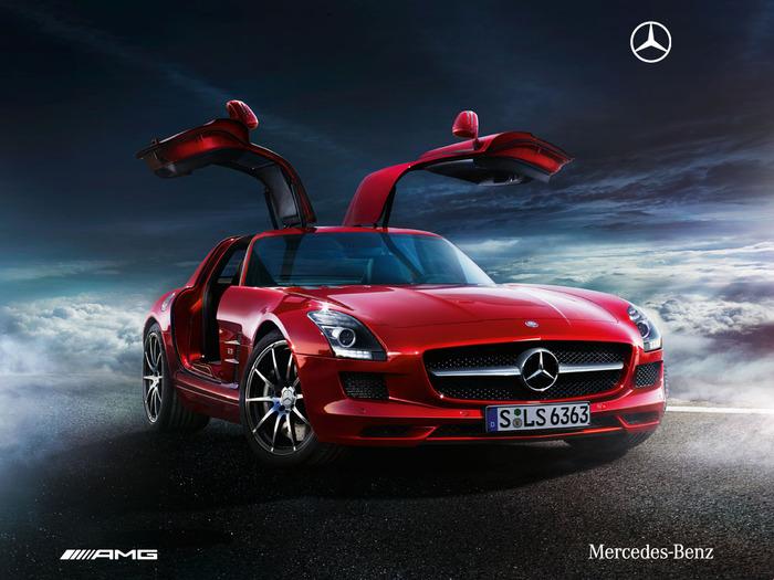 Mercedes SLS AMG Wallpaper   Download 700x525