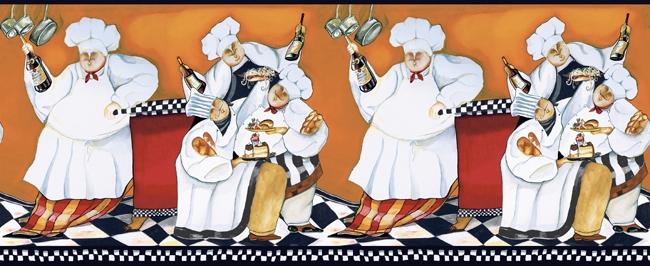 650x266px Italian Fat Chef Wallpaper Border Wallpapersafari