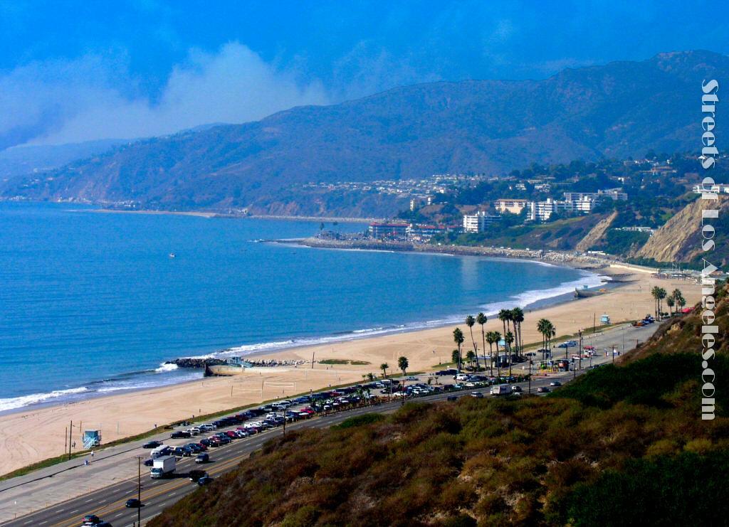 free beach blue desktop wallpaper beach of los angeles california 1024x741