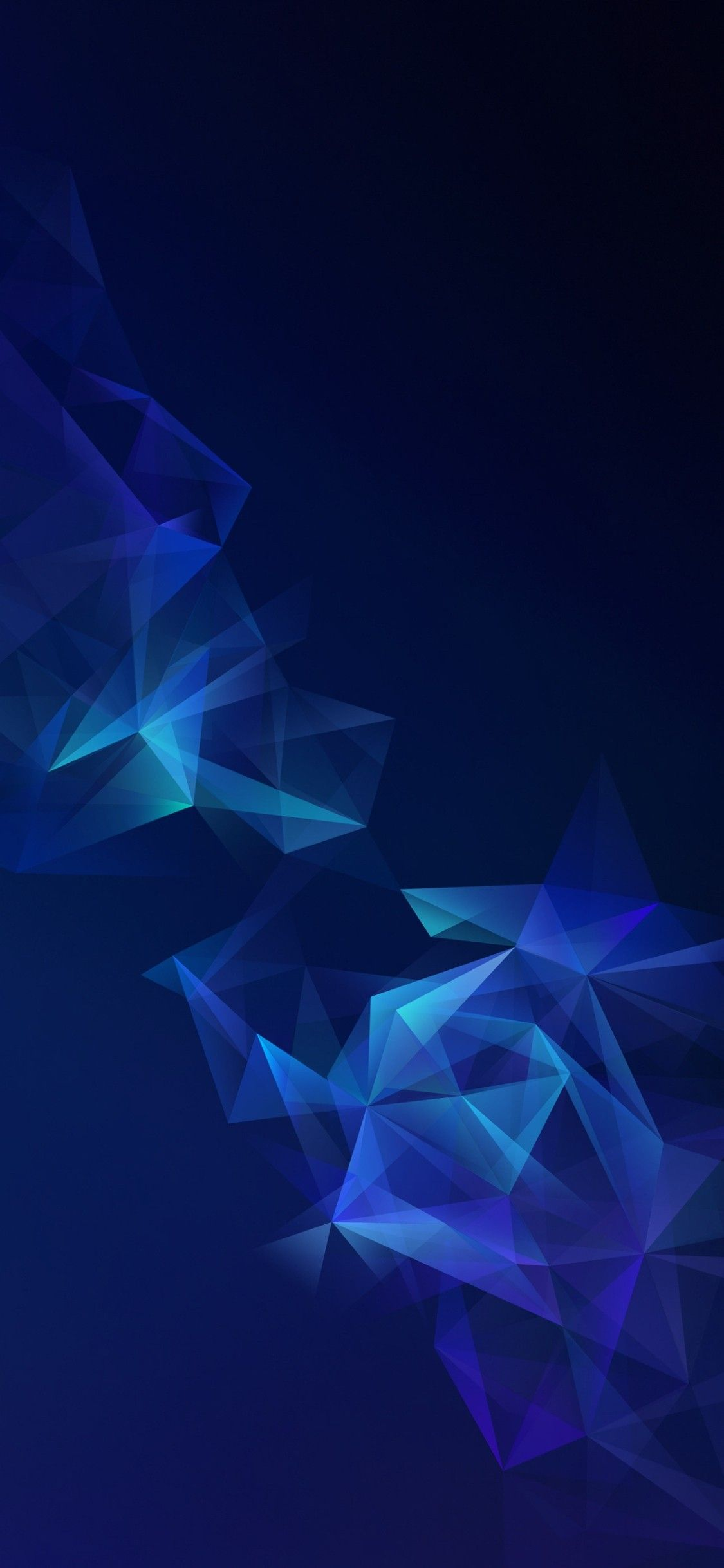 Blue s9 s9 plus wallpaper galaxy colour abstract digital 1125x2436