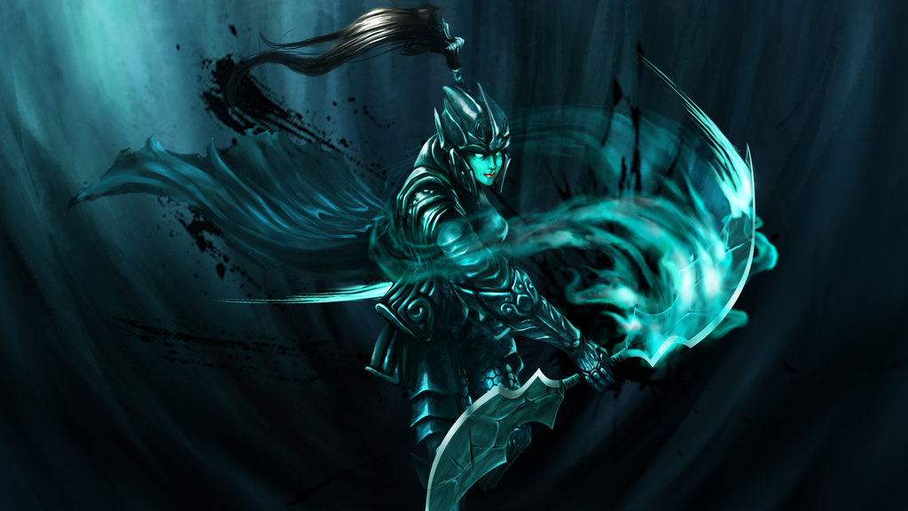 Dota 2 Wallpaper Phantom Assassin - WallpaperSafari