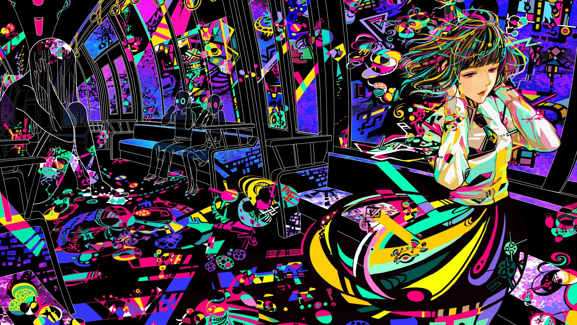 Trippy Twitter Backgrounds 63 pictures 1920x1080