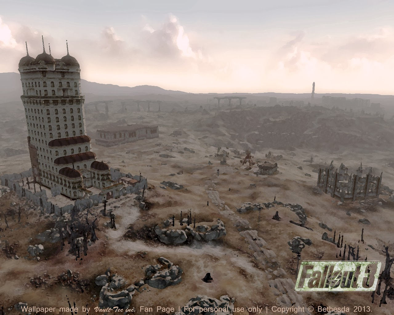 Vault Tec Fallout Blog Wallpapers 1280x1024