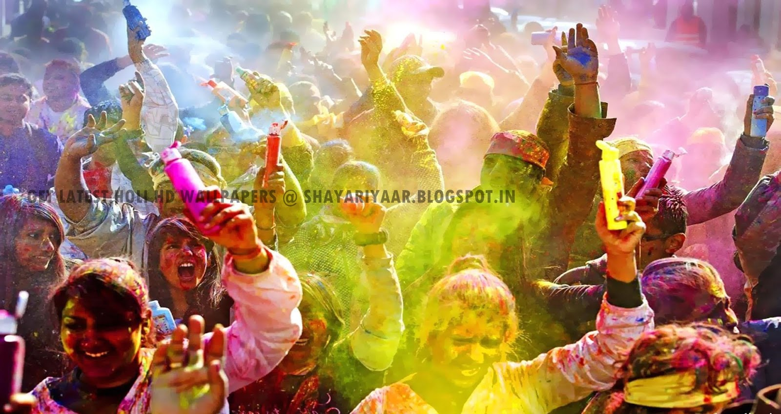 HOLI HD WALLPAPERS   Shayaris 1600x848