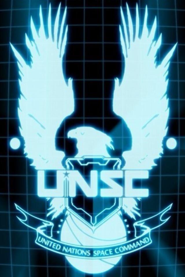 UNSC iPhone Wallpaper Games Pinterest 640x960