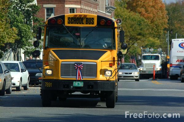 Yellow School Bus pictures use image 2030 02 7 by FreeFotocom 600x400