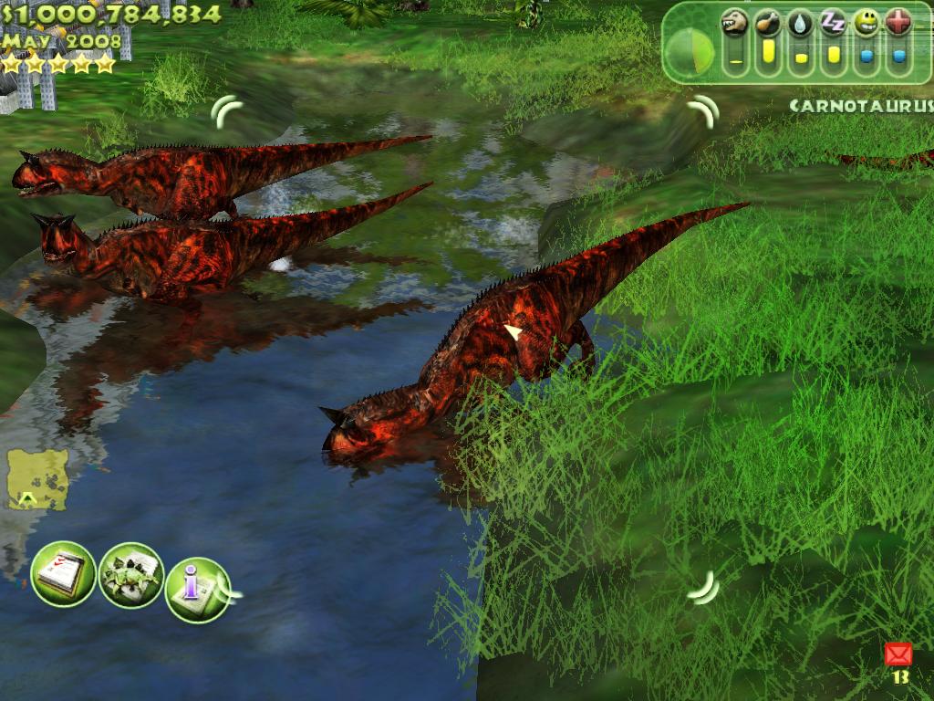 Carnotaurus image   JWFKCCDOMINION mod for Jurassic Park 1024x768