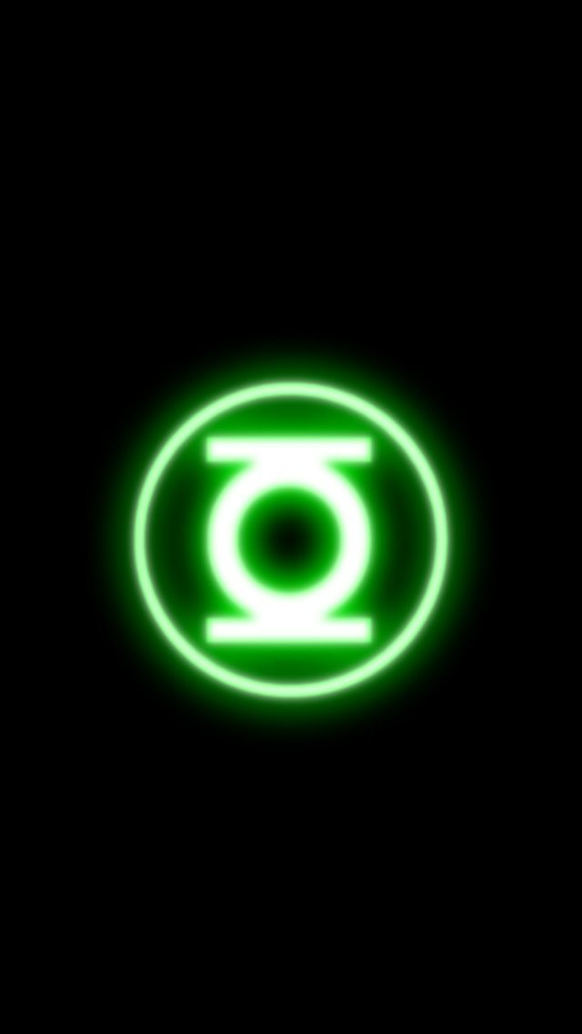 Green Lantern iPhone Wallpaper  With images 640x1136
