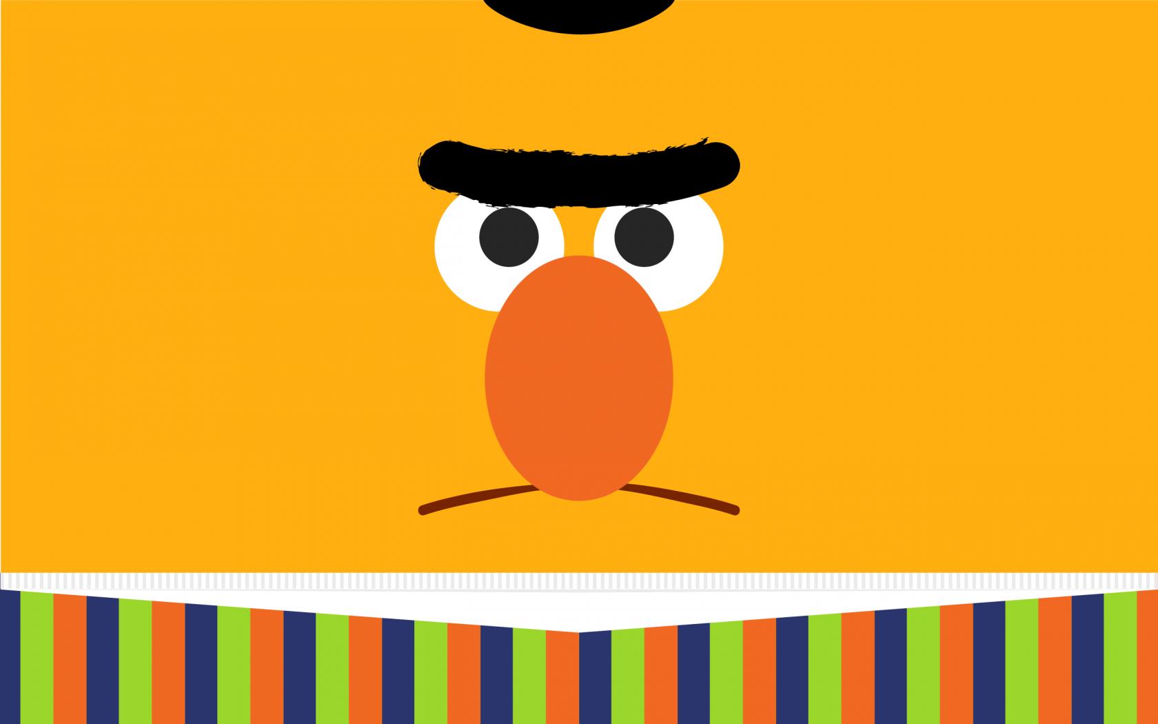 Wallpaper Of Bert From Sesame Street PaperPull 1680x1050