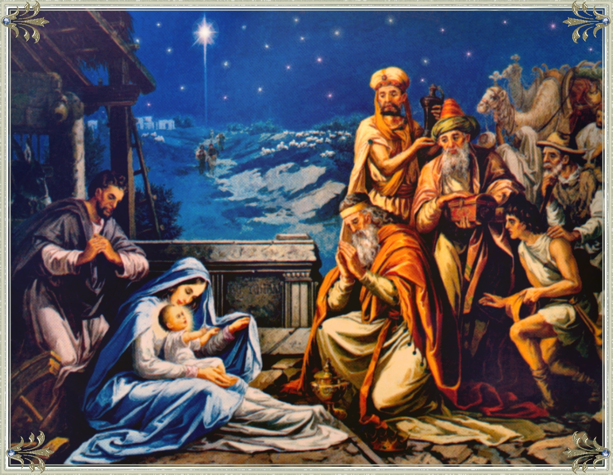 Nativity Wallpaper HD wallpaper background 1234x956
