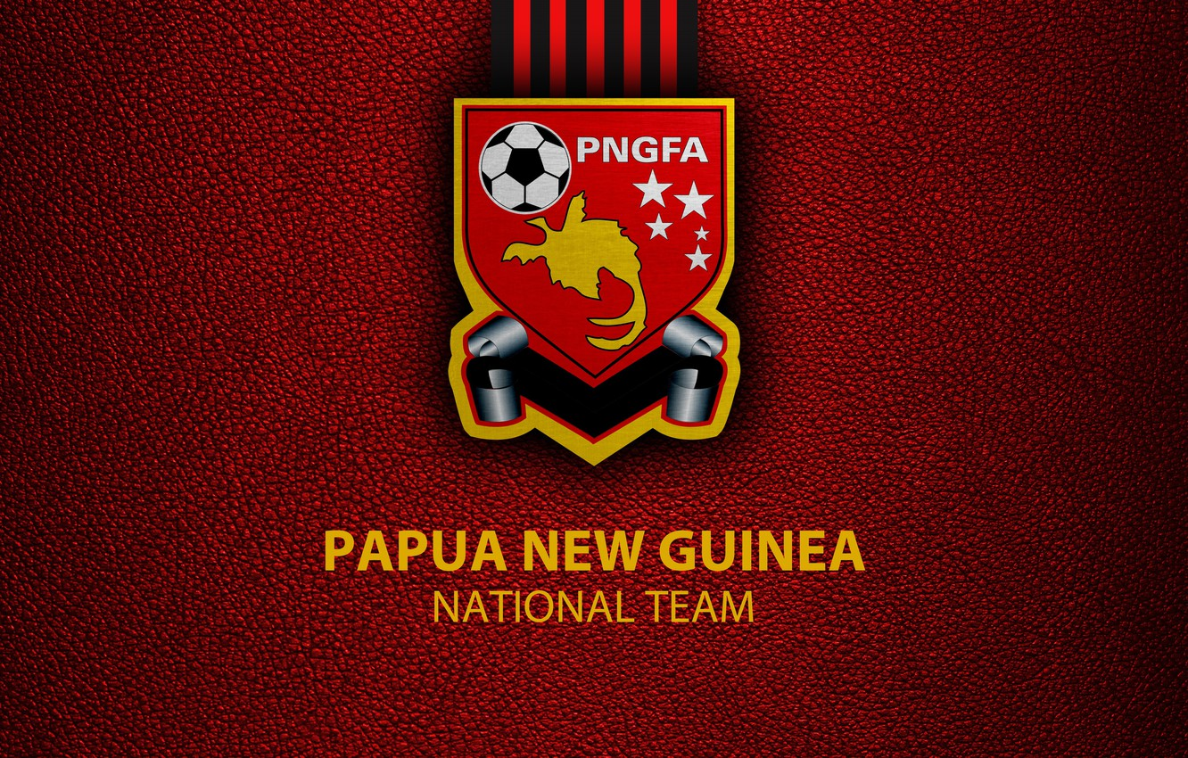 Wallpaper wallpaper sport logo football National team Papua 1332x850