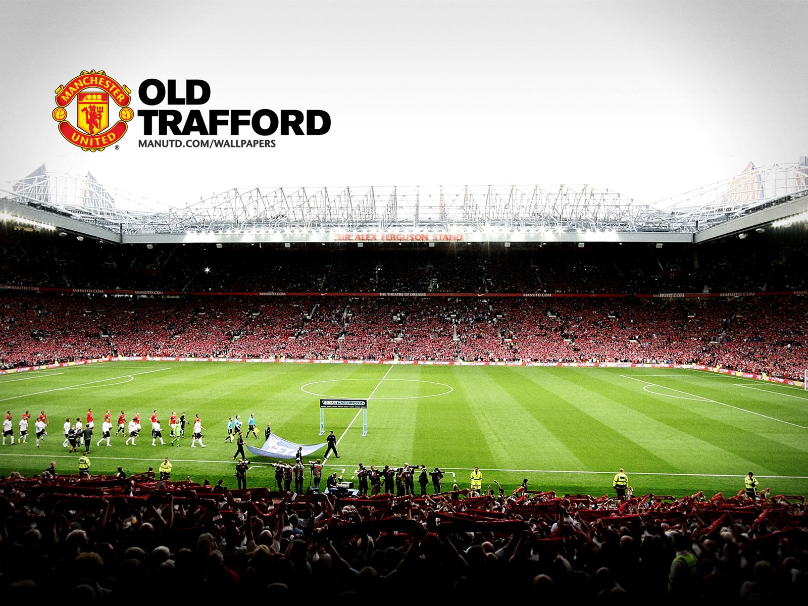 Old trafford wallpapers hd wallpapersafari - Manchester united latest wallpapers hd ...