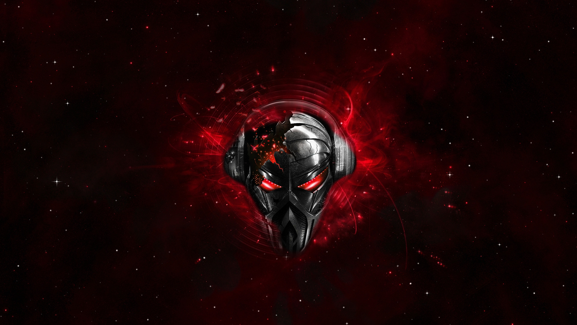 Robot Skull   High Definition Wallpapers   HD wallpapers 1920x1080