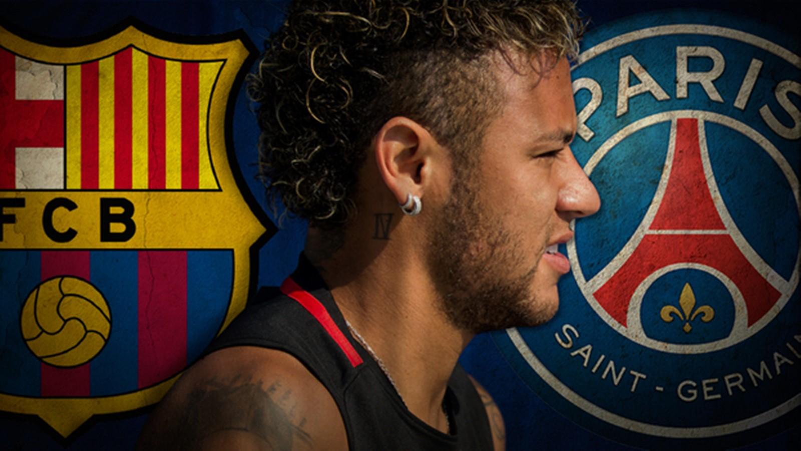 Neymar PSG Paris Saint Germain Exit in Barcelona 1600x900