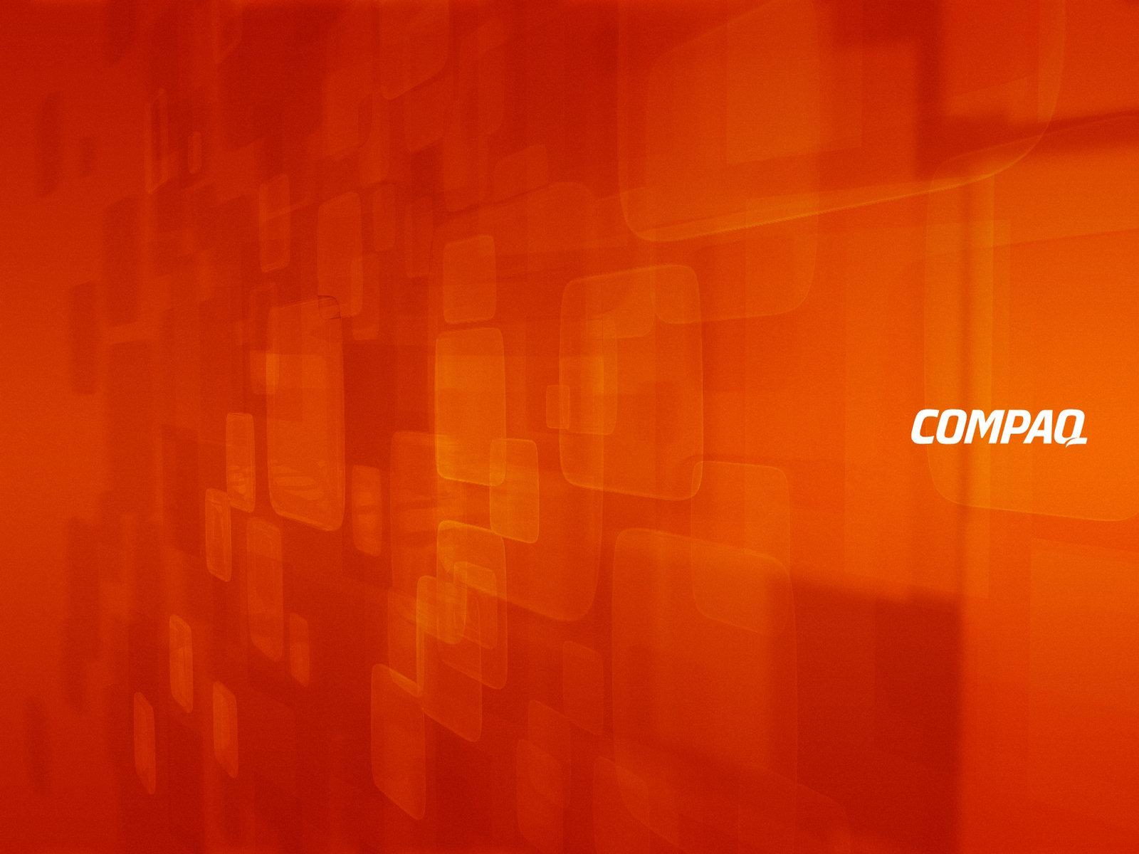 Compaq Red Orange Wallpaper Geekpedia 1600x1200