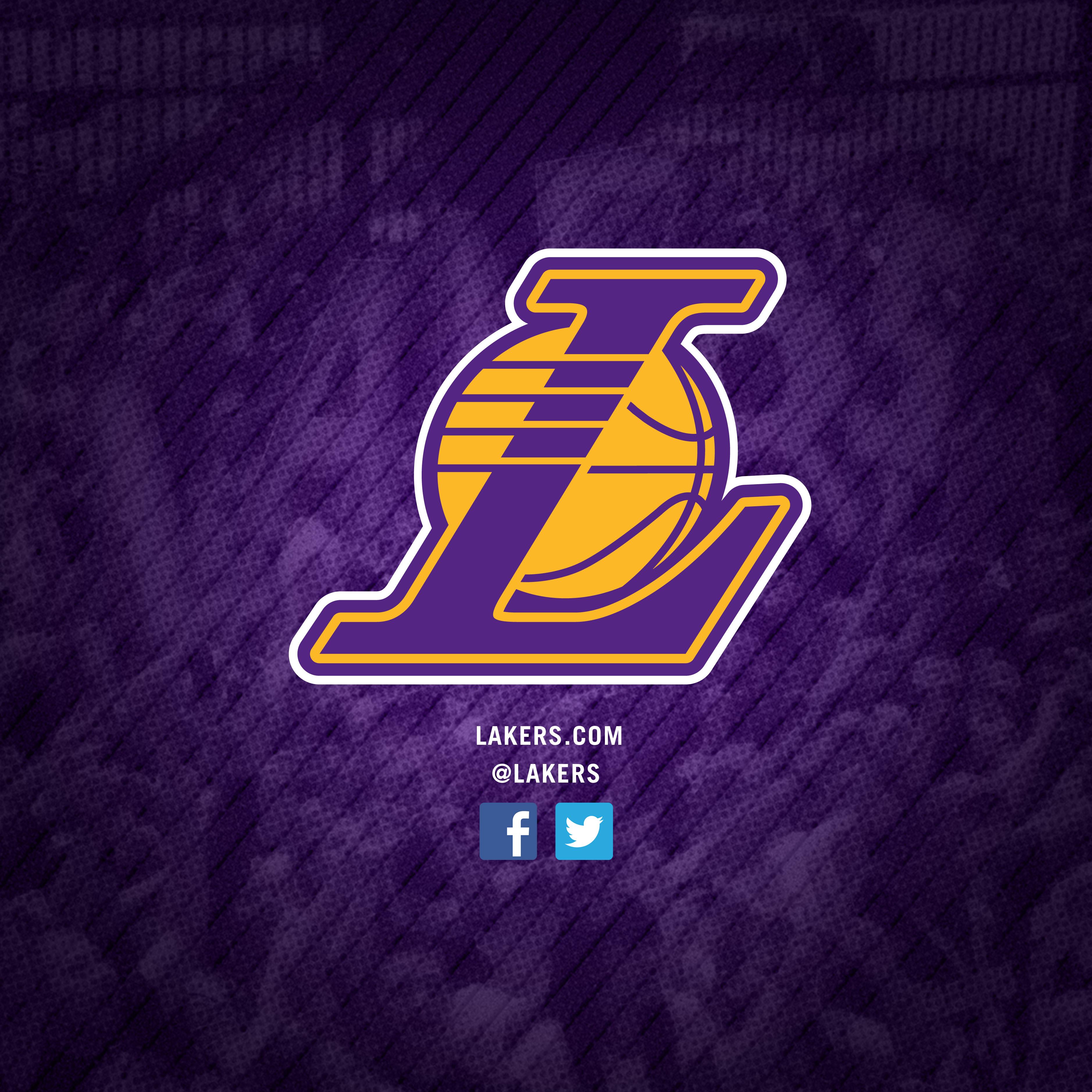 Wallpaper Los Angeles: Lakers Logo Wallpaper