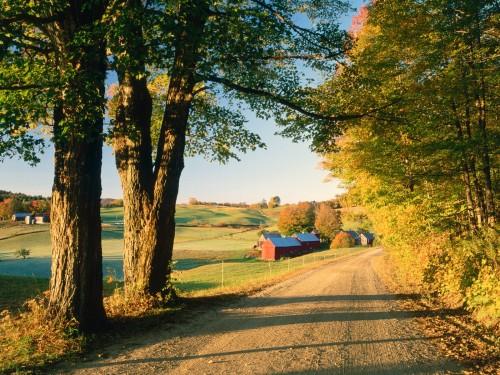 Jenne Farm Near South Woodstock Vermont 500x375
