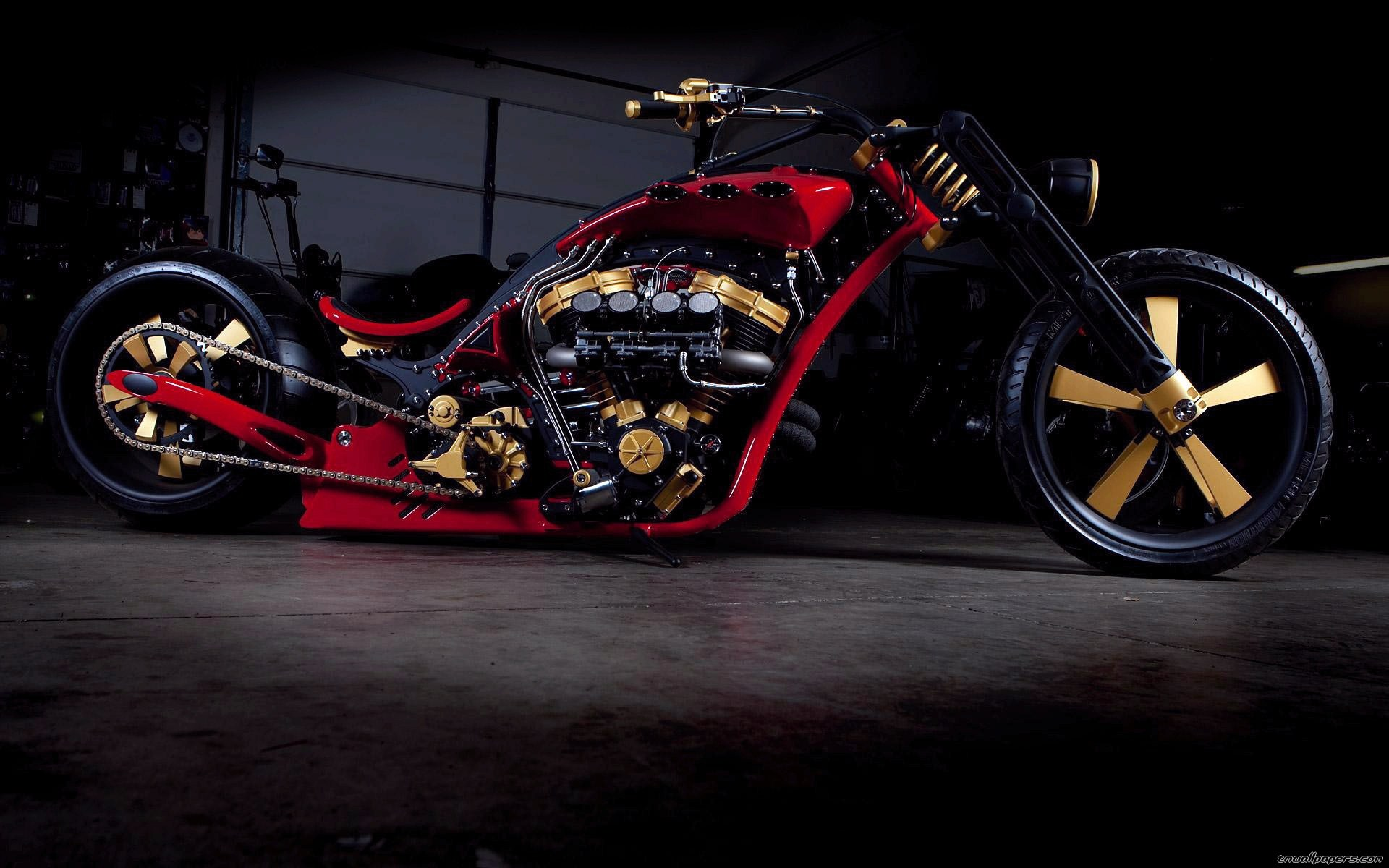 Wallpapers Wide wallpapers e HD wallpapers   Harley Davidson Chopper 1920x1200