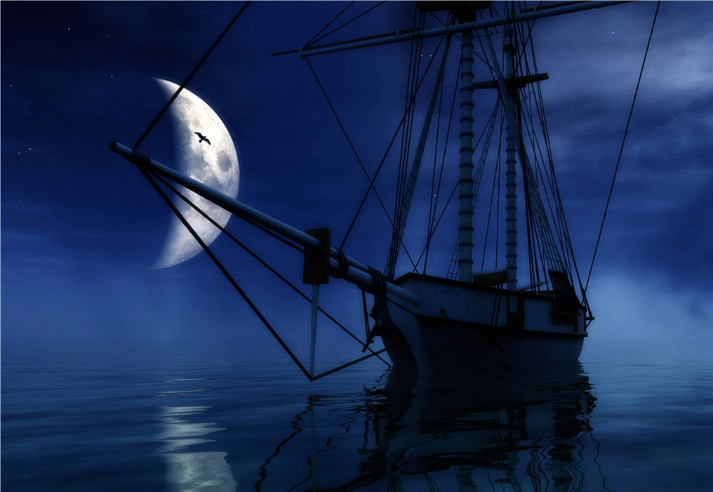 Ghost Pirate Ship Wallpaper - WallpaperSafari