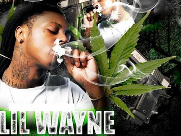 Lil Wayne Smoking Colorful Weed Lil Wayne Wallp...