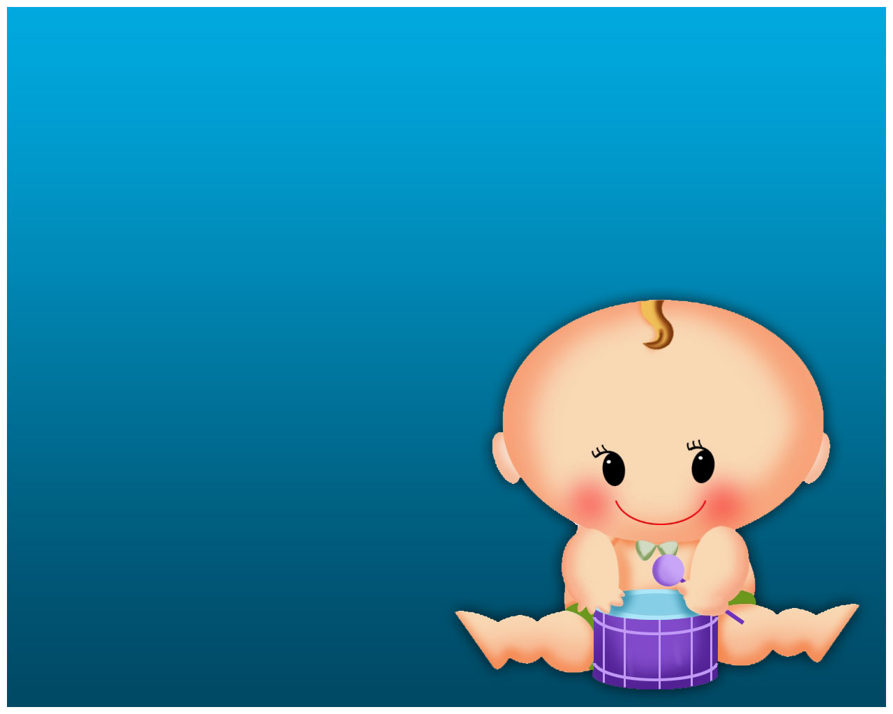 Small Baby PPT Backgrounds   PPT Backgrounds Templates 1280x1024