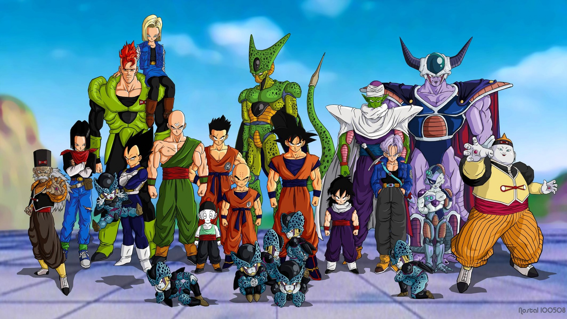 Tags Dragon Ball Dragon Ball Z 1920x1080