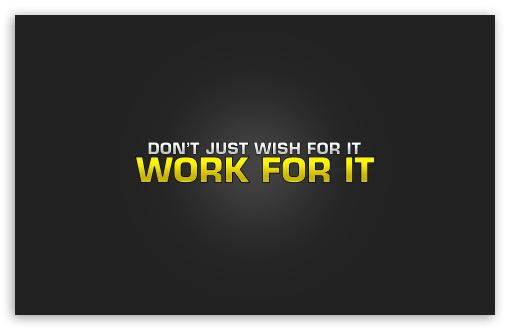 Work Is Worship HD wallpaper for Standard 43 54 Fullscreen UXGA XGA 510x330