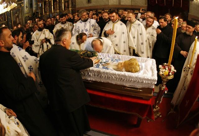 La Capone In Casket Funeral