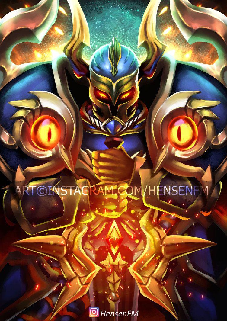 Tigreal Fallen Guard Mobile Legends by HensenFM Mengagumkan 752x1063