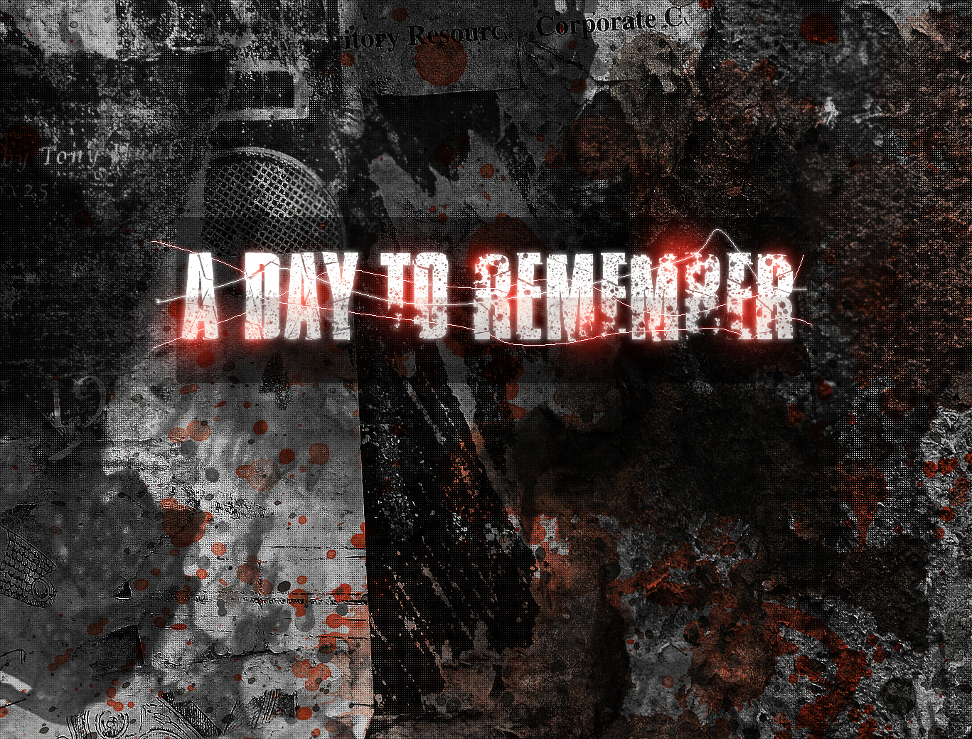day to remember wallpaper by pato92 fan art wallpaper other 2009 1367x1039