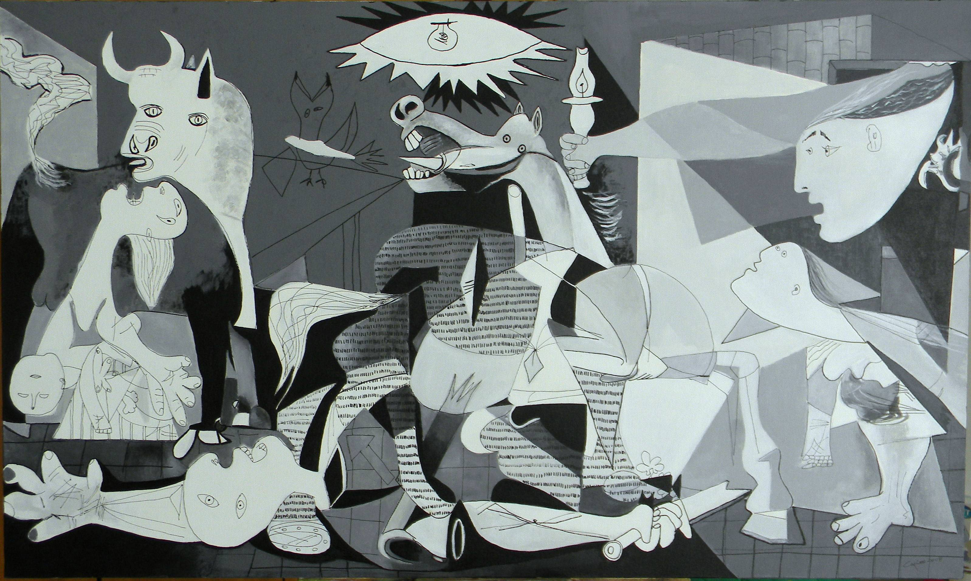 Images For Guernica Wallpaper 3195x1913