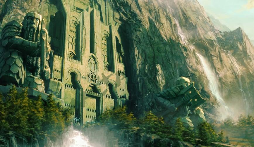 Erebor Entrance Movie This majestic vision of erebor 868x503