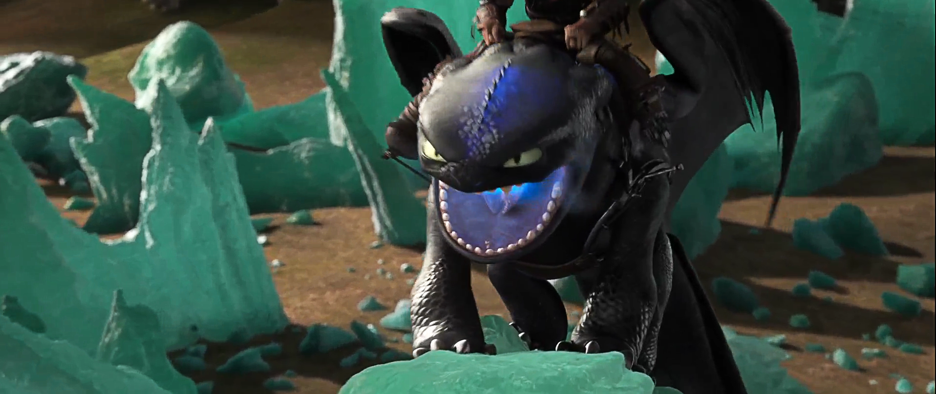 how to train your dragon 2 alpha fight