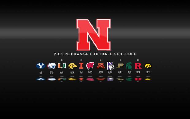 2015 Nebraska Cornhuskers Football Schedule Wallpaper Preview 620x388