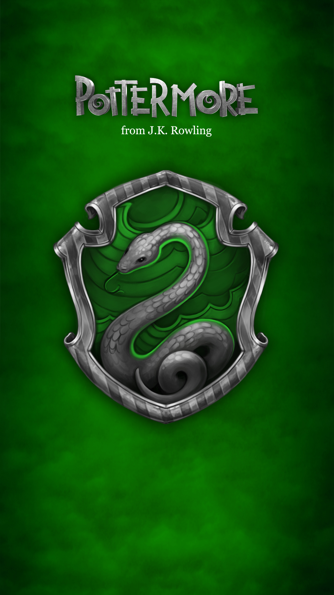 gallery for harry potter iphone wallpaper slytherin