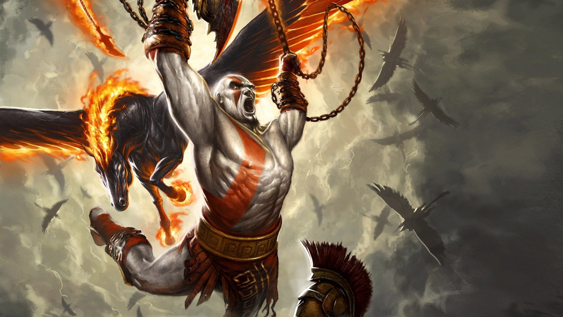 Free Download Kratos God Of War Wallpaper 9384 1920x1080 For