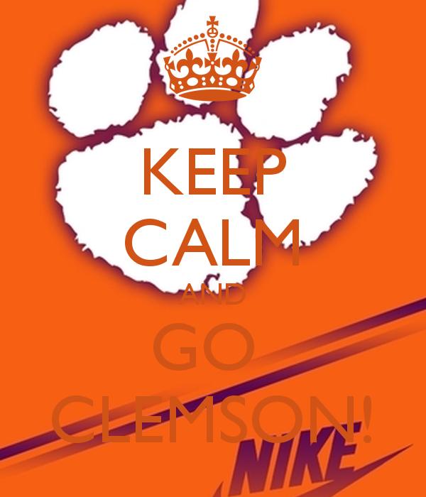 Clemson Wallpaper Iphone Keep calm and go clemson 600x700