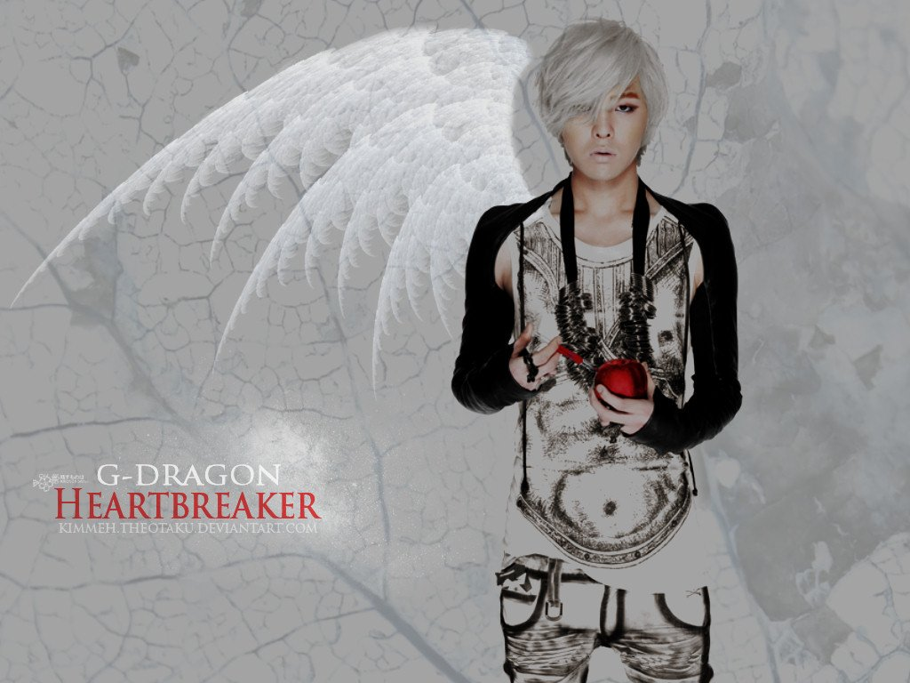 Heartbreaker wallaper Download G Dragon Heartbreaker Background 1024x768
