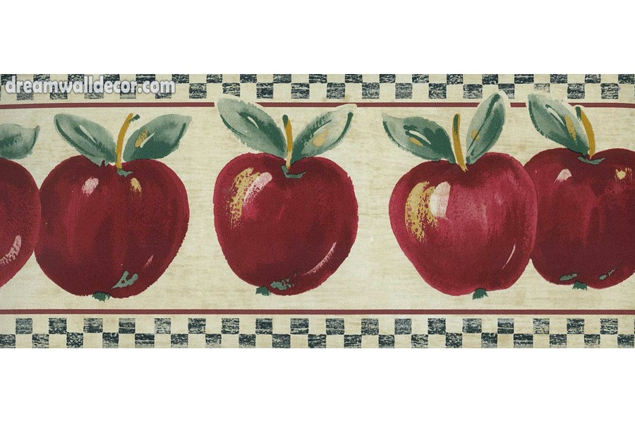 Red Delicious Apple Wallpaper Border 900x600