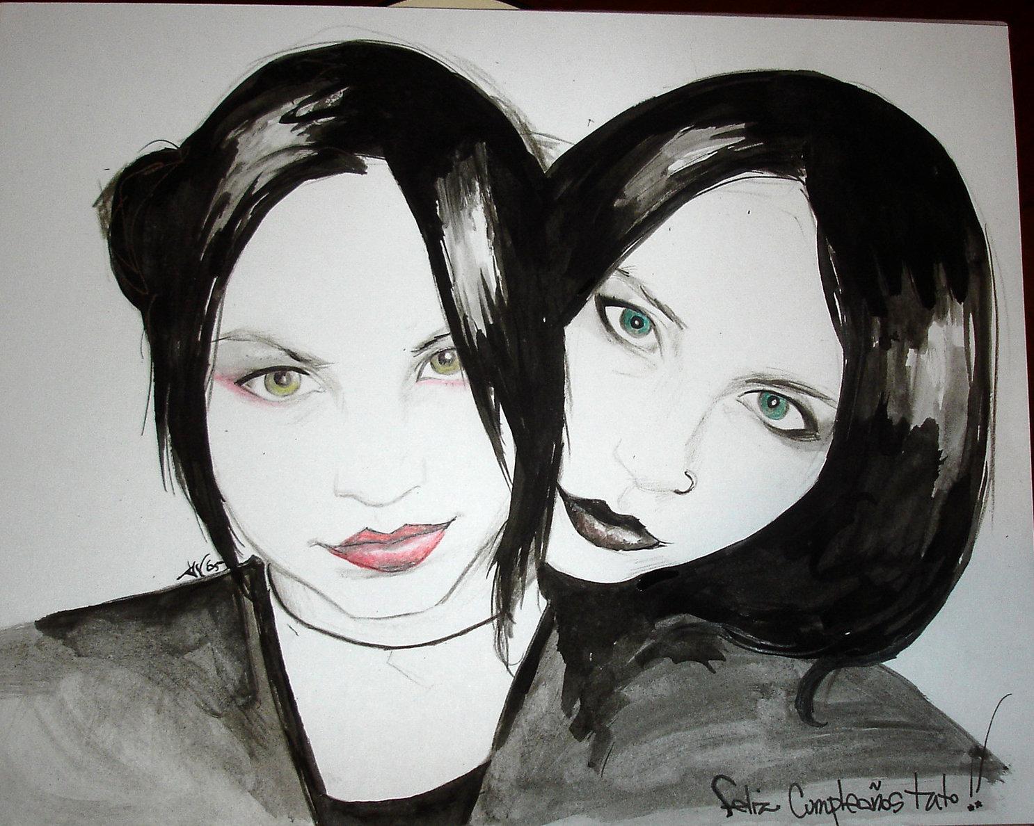 Tato y Carla by kthrina 1486x1188