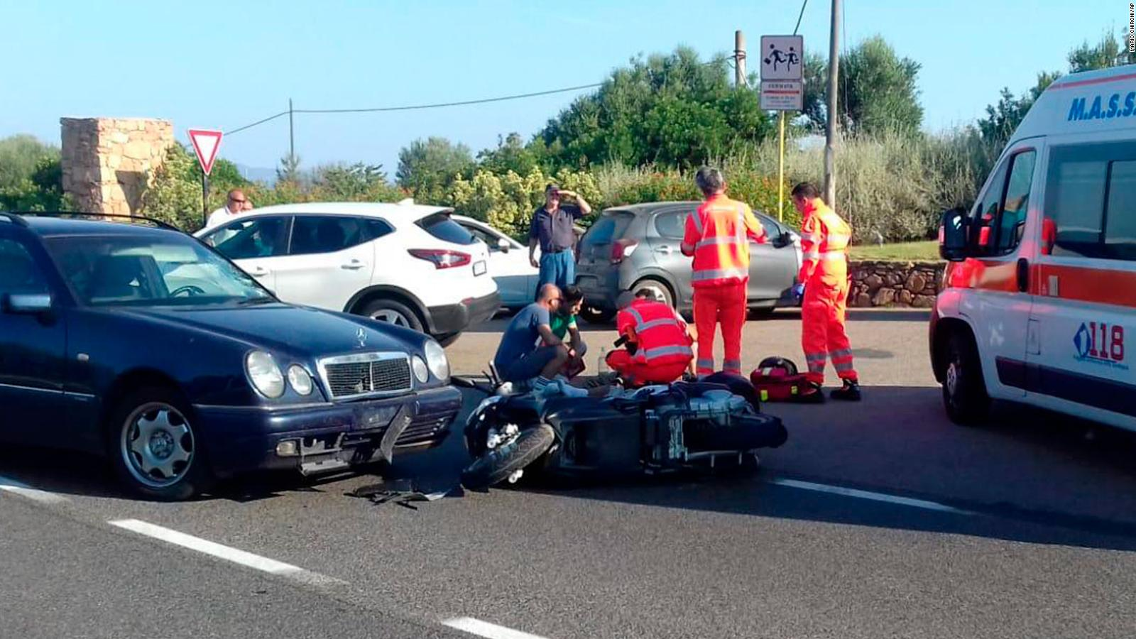 George Clooney involved in scooter accident in Italy   CNN 1600x900