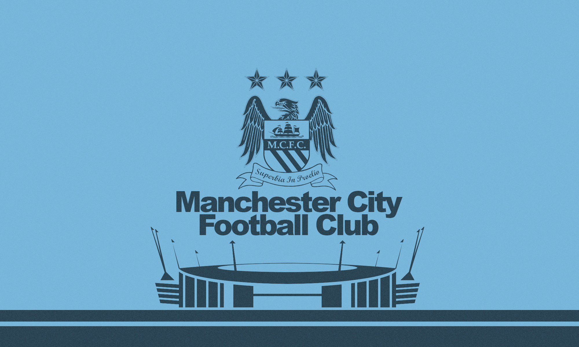 Barcelona Vs Man City Logo: Manchester City Wallpaper 2015