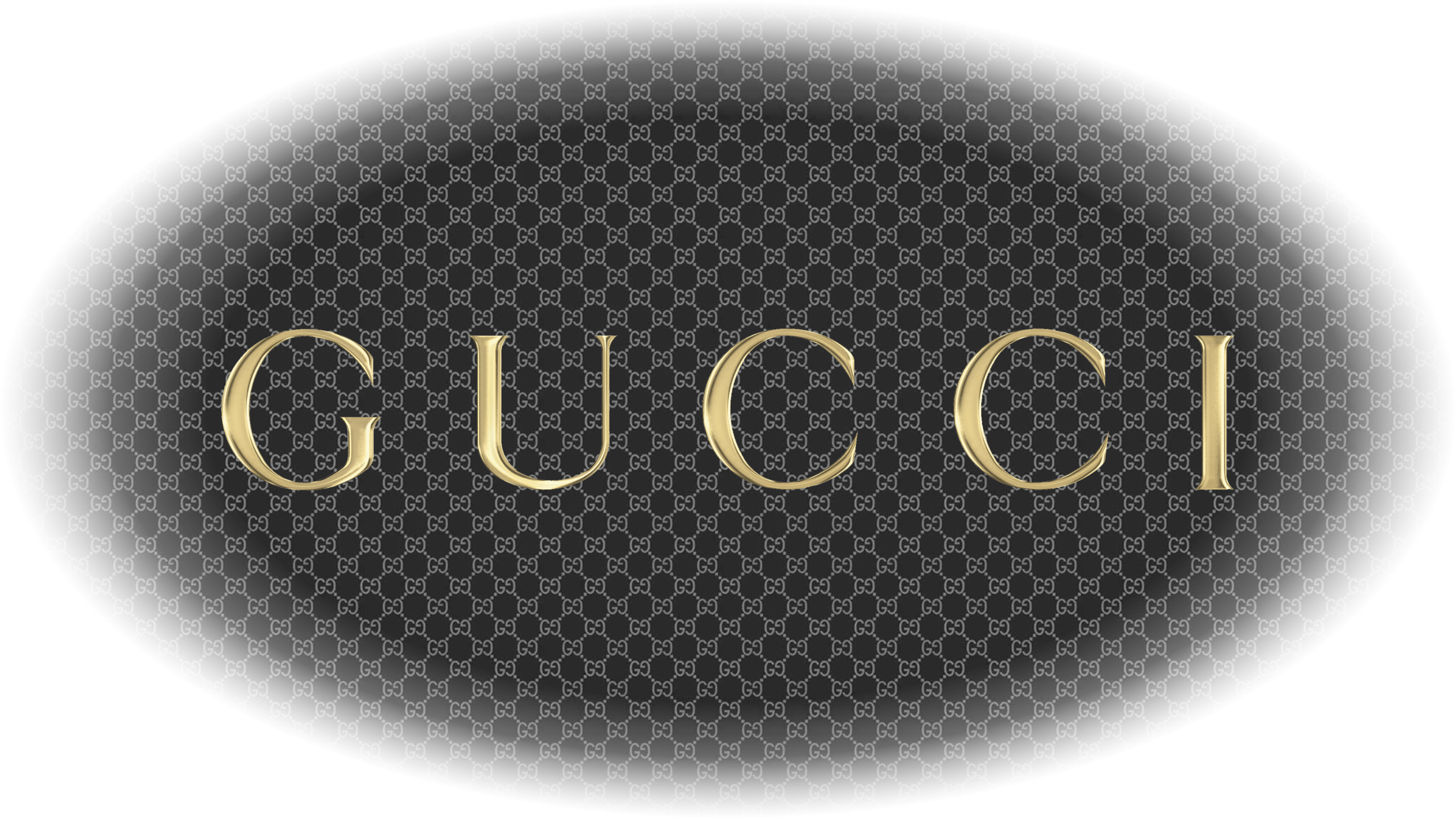 Gucci Logo Wallpapers HD 3486x1960
