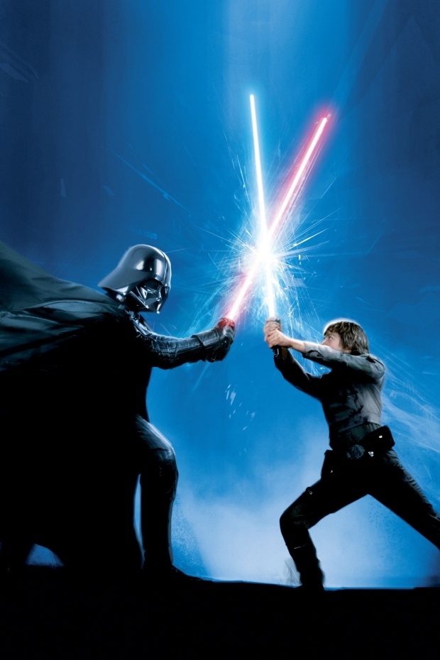 Star Wars Darth Vader Luke Skywalker Hd Wallpaper Wallpaper 23782 HD 620x930