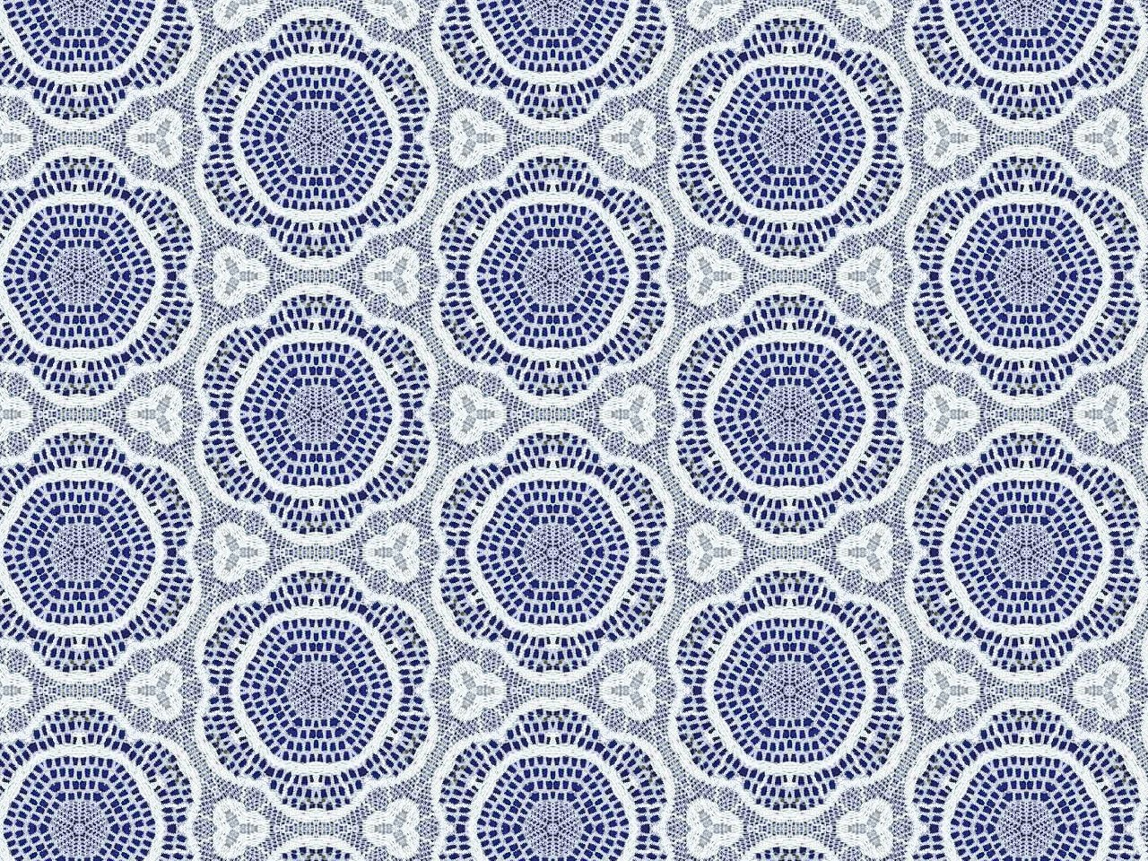 Images of Lace Blue background with delicate lace fabric patterns 1280x960